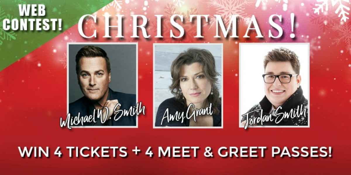 Win Michael W. Smith/Amy Grant Concert Tickets